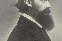 Ein Portaitfoto von Friedrich August de Leuw